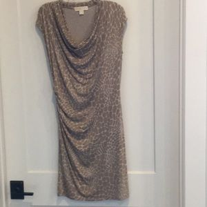 Michael Kors animal print dress size small